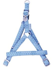 ZOLUX Állítható hám mac leather 25 mm kék