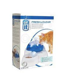 CATIT Szökőkút 3l + tál macskáknak