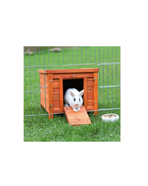TRIXIE 'Natura' outdoor house for rabbits 42 x 43 x 51 cm