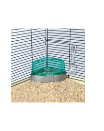TRIXIE Sarok toalett tetővel lapáttal