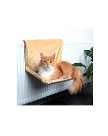 TRIXIE Fűtőtestre akasztható fekhely 48 × 26 × 30 cm  bézs