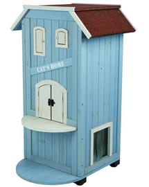 TRIXIE Házikó macskáknak, 56 x 94 x 59 cm kék