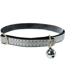 ZOLUX Csillogó nyakörv 30 cm fekete