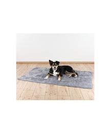 TRIXIE Melegítő takaró kutyáknak 100 x 75 cm szürke
