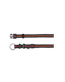 "TRIXIE Nyakörv ""Fusion collar"" 30 – 45 cm - 17 mm fekete - narancssárga"