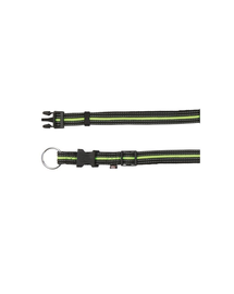 TRIXIE Nyakörv M - L  35–55 cm - 20 mm fekete - zöld