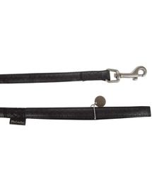 ZOLUX Póráz mac leather 25 mm - 12 m fekete