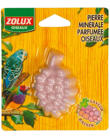 ZOLUX Kiegészítő táp, szőlő illatú kő