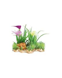 TRIXIE Plastic plant in gravel bed 13 cm
