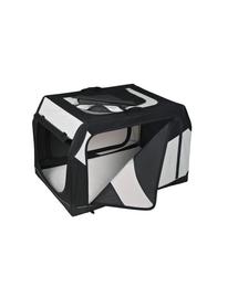 TRIXIE Szállító box vario nylon fekete-szürke 76 × 48 × 51 cm