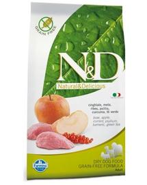 FARMINA N-D boar - apple adult dog 2,5 kg