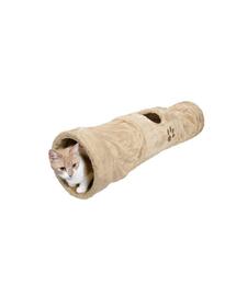 TRIXIE Alagút macskáknak 125 cm bézs