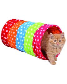 TRIXIE Alagút macskáknak 25 x 50 cm színes