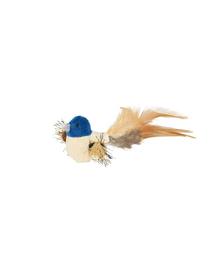 TRIXIE Játék madár tollal és macskamentával 8 cm