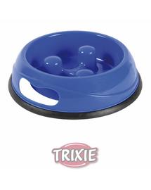 TRIXIE Műanyag kutyatál  evéslassítóval 15l-átmérő 27 cm