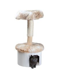"""TRIXIE Kaparó macskáknak """"Meru"""",98 cm, márvány fehér-bézs"""