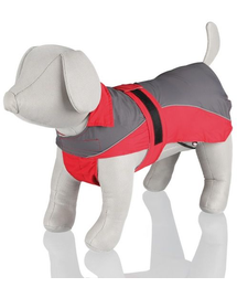 TRIXIE Lorient' rain coat s 40 cm red-grey