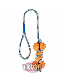 TRIXIE Csont kötéllel 11cm