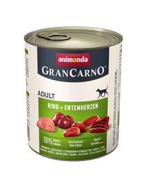 ANIMONDA Grancarno pulyka - kacsa 800g