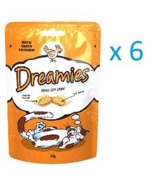 DREAMIES csirkével 006 kg x6