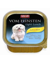 ANIMONDA Vom Feinsten Light Lunch pulyka és sajt 150 g