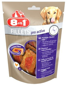8IN1 Jutalomfalat fillets Pro Active S 80g