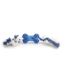COMFY Játék zibi csont kötélen 40cm