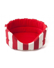COMFY Marina piros fehér L