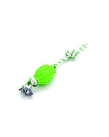 COMFY Játék zibi labda kötélen zöld 45 cm