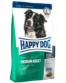 HAPPY DOG Fit & Well Adult Medium 12.5 kg