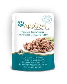 APPLAWS Tasak macskáknak tonhal és makréla aszpikban 70 g