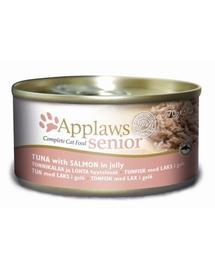 APPLAWS Senior Konzerv macskáknak tonhal és azac 70 g