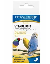 FRANCODEX Vitaminok egészséges tollakra madaraknak 15 ml