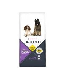 VERSELE-LAGA Adult Active Aktív kutyáknak szárnyas 12,5 kg