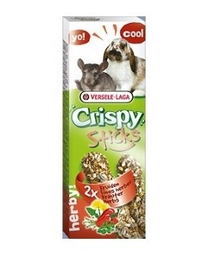 VERSELE-LAGA Crispy Stick Rabbits-Chinchillas Herbs 70 g  Gyógynövényes rudacska