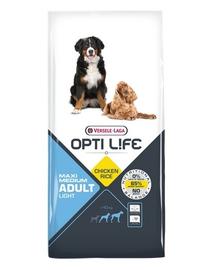 VERSELE-LAGA Adult Light Medium - Maxi elhízott, közepes és nagy méretű kutyáknak 12,5 kg
