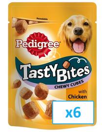 PEDIGREE Tasty Bites Chewy Cubes 6x 130Gr