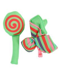 """ZOLUX Játék macskáknak Candy Toys """"virág és cukorka"""" macskamentával szín zöld"""