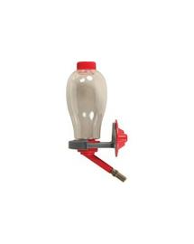 ZOLUX Fölülről tölthető itató rágcsálóknak  500 ml piros