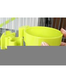 Szín akvamarin ZOLUX Műanyag tál felakasztáshoz átmérő 9,5 cm