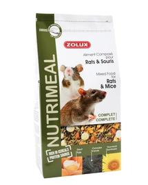 ZOLUX Keverék Nutri'Meal Patkány-Egér 800 g