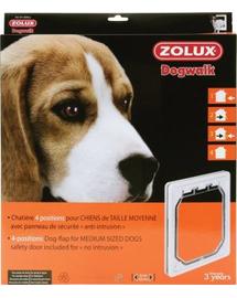 ZOLUX 4-poziciós ajtó közepes méretű kutyáknak, fehér