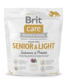 BRIT Care Grain-Free Senior Salmon & Potato 1 kg