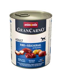 ANIMONDA Grancarno konzerv 08 kg füstölt angolna - krumpli