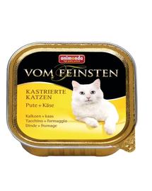 ANIMONDA Vom Feinsten Kastrierte pulykával és sajttal 100 g