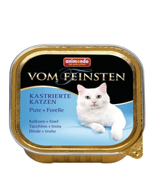 ANIMONDA herélt macska  pulyka pisztráng 100 g