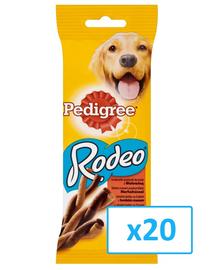 PEDIGREE Rodeo Jutalomfalat  marhahússal 70g x20