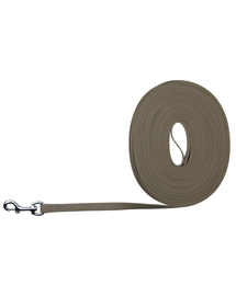 TRIXIE Easy Life Tracking Leash, 10 M-17 mm, Taupe