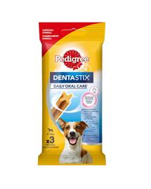 PEDIGREE Jutalomfalat fogászati rudacskák kistermetű kutyáknak Dentastix 45 g x18