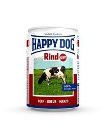 HAPPY DOG Rind Pur 200 g Konzerv kutyáknak - marha